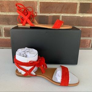 New INC International Concepts Ankle Strap Sandals